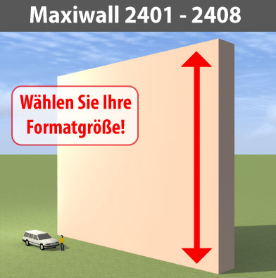 maxiwall 2401-2408 Riesen-Werbewand B24m
