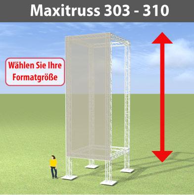maxitruss 303 - 310 Alutraversen-Großwerbewände