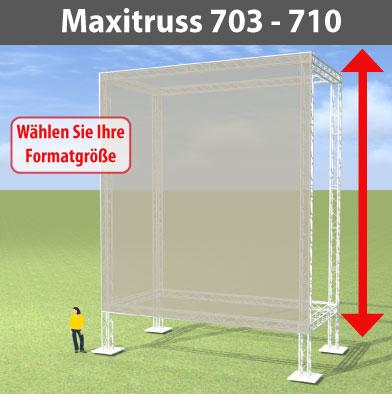 maxitruss 703 - 710 Alutraversen-Großwerbewände