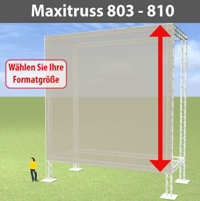 maxitruss 803 - 810 Alutraversen-Großwerbewände