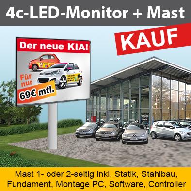 4c-LED-Monitor+Mast Preise 4c-LED inkl. Mast