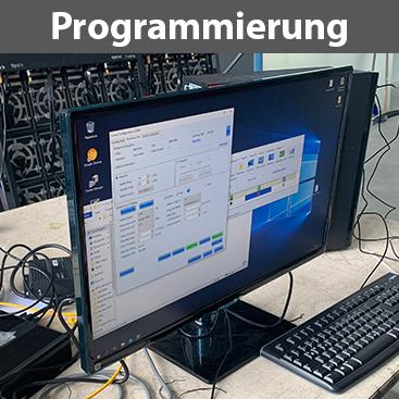 Programmierung, Software-Installation, Video- und Bildformate
